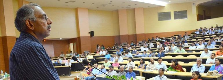 Trong một buổi thuyết trình tại Đại học Nalanda