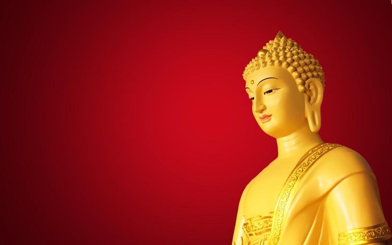 """""""Ta là Phật đã thành, chúng sinh là Phật sẽ thành"""" trích từ kinh nào?"""
