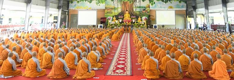 Thông bạch tổ chức An cư kết hạ Phật lịch 2565