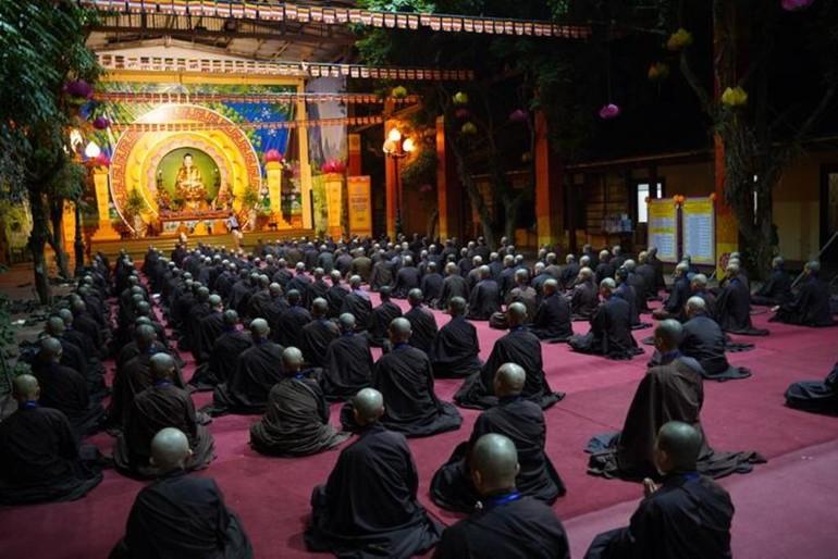 Đại giới đàn tổ chức trang nghiêm theo truyền thống Tăng-già tại chùa Bằng, Hà Nội