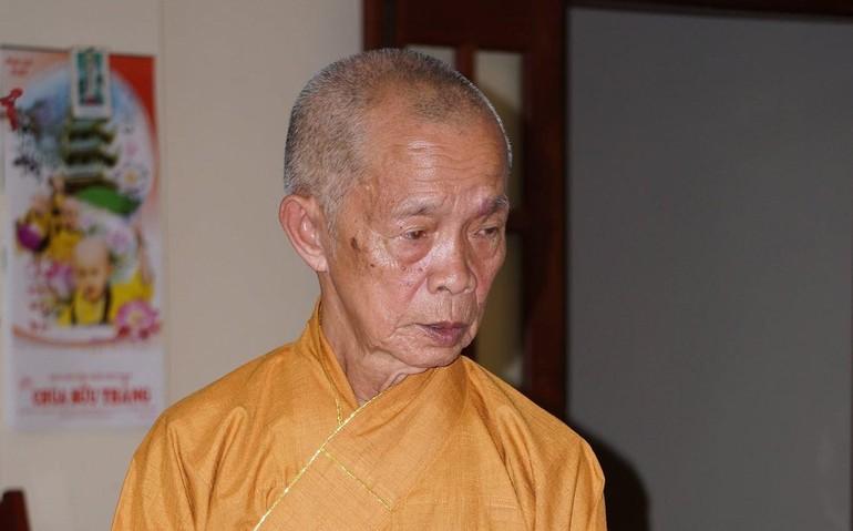 Trưởng lão Hòa thượng Thích Từ Hương - Ảnh: Chùa Minh Thành