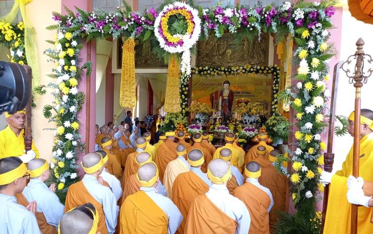 Lễ truy niệm Trưởng lão Hòa thượng Thích Từ Hương