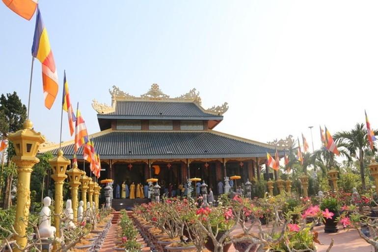 Chánh điện chùa Từ Lâm - Ảnh: Phật giáo Huế