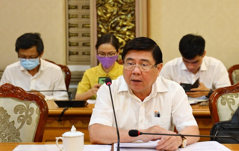 Chủ tịch UBND TP.HCM Nguyễn Thành Phong - Ảnh: TTBC TP.HCM
