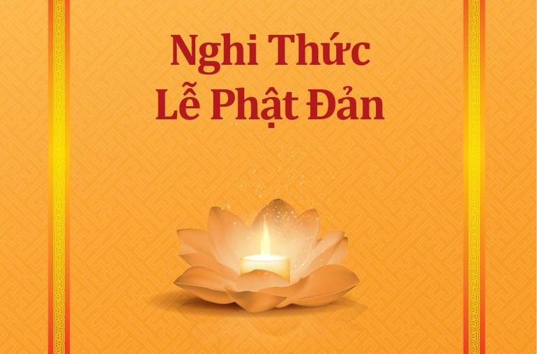 Nghi thức Đại lễ Phật đản do Ban Nghi lễ GHPGVN TP.HCM biên soạn