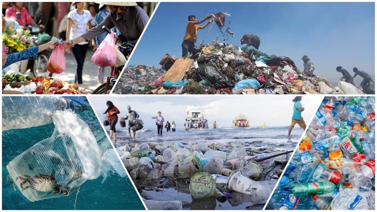 Đồ nhựa, túi ni-lông, dùng một lần hại ngàn năm