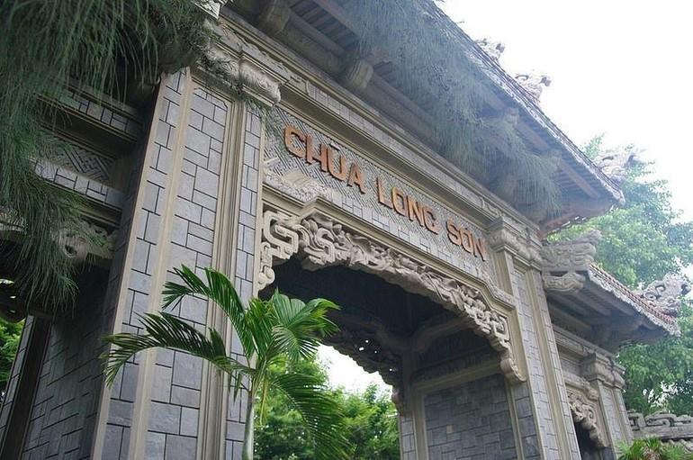 Chùa Long Sơn, nơi đặt trụ sở Ban Trị sự GHPGVN tỉnh Khánh Hòa