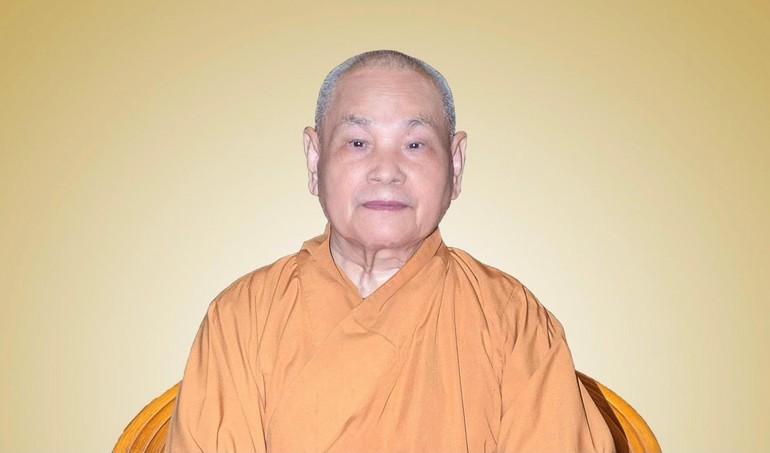Hoà thượng Thích Thiện Nhơn, Chủ tịch Hội đồng Trị sự GHPGVN - Ảnh: Đăng Huy