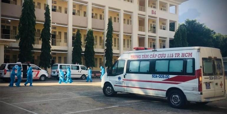 TP.HCM cấp tốc thành lập 12 bệnh viện dã chiến với 34.500 giường điều trị bệnh nhân Covid-19 đã đi vào hoạt động