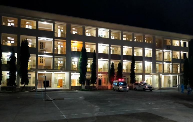 Những ngày Bệnh viện dã chiến số 1 sáng đèn suốt đêm