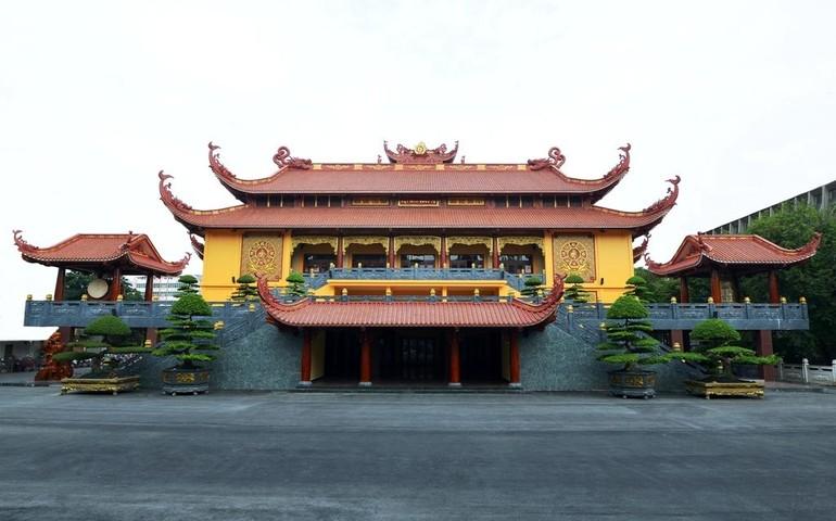 Việt Nam Quốc Tự - Trung tâm hành chánh, văn hóa và tâm linh của Phật giáo TP.HCM - Ảnh: H.Đ