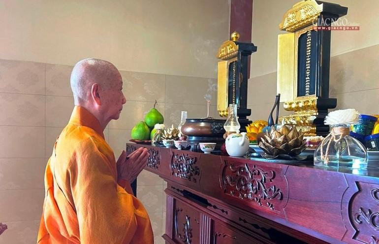 8g30 sáng mai 31-7, truyền hình trực tuyến buổi thuyết giảng của Hòa thượng Thích Trí Quảng