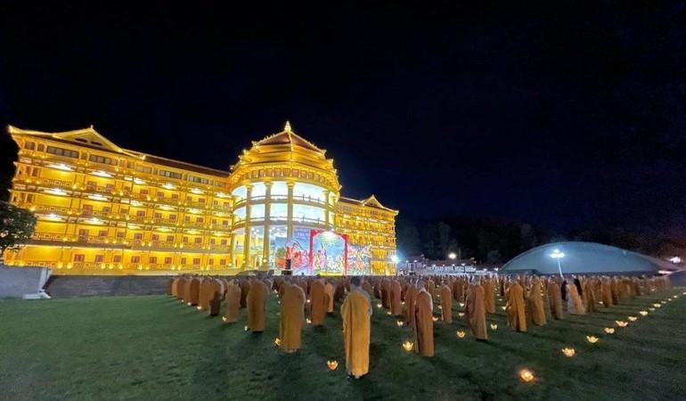 Học viện Phật giáo VN tại Hà Nội sẽ tổ chức lễ cầu an và tưởng niệm anh hùng liệt sĩ trong 7 ngày - Ảnh: Khuông Việt