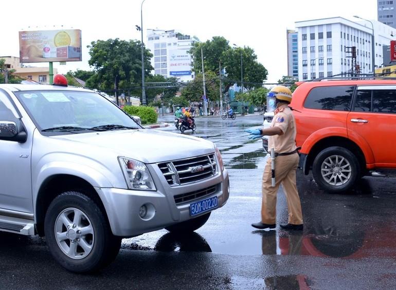 TP.HCM sẽ siết chặt việc đi lại, giảm mật độ giao thông - Ảnh: Bảo Toàn
