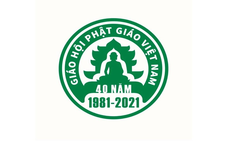 Logo đạt giải nhất, được chọn làm biểu tượng chính thức cho Đại lễ Kỷ niệm 40 năm thành lập GHPGVN