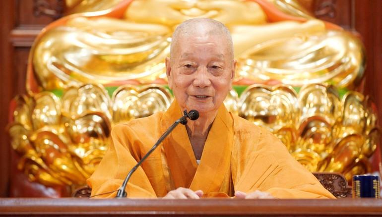 Trưởng lão Hòa thượng Thích Trí Quảng, Đệ nhất Phó Pháp chủ, Trưởng ban Trị sự GHPGVN TP.HCM