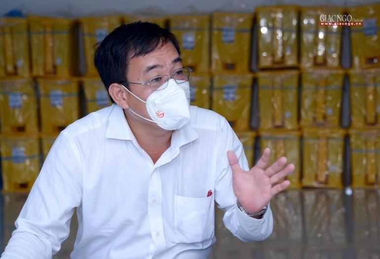Ông Nguyễn Duy Tân, Phó Giám đốc Sở Nội vụ, Trưởng ban Tôn giáo TP.HCM - Ảnh: Bảo Toàn