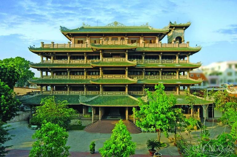 Cơ sở 1 Học viện Phật giáo VN tại TP.HCM - Ảnh: Võ Văn Tường