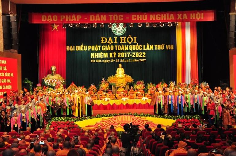Khai mạc Đại hội Đại biểu Phật giáo toàn quốc lần thứ VIII tại Hà Nội (2017)
