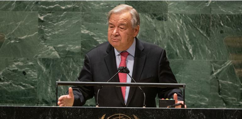 Tổng thư ký Liên Hiệp Quốc António Guterres - Ảnh: UN