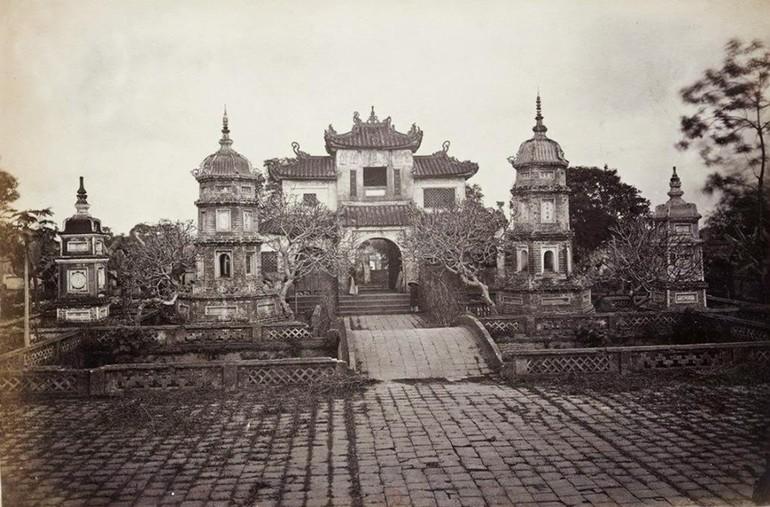 Chùa Báo Ân, một trong những ngôi danh lam tại Hà Nội được xây dựng giữa thế kỷ XIX - Ảnh tư liệu