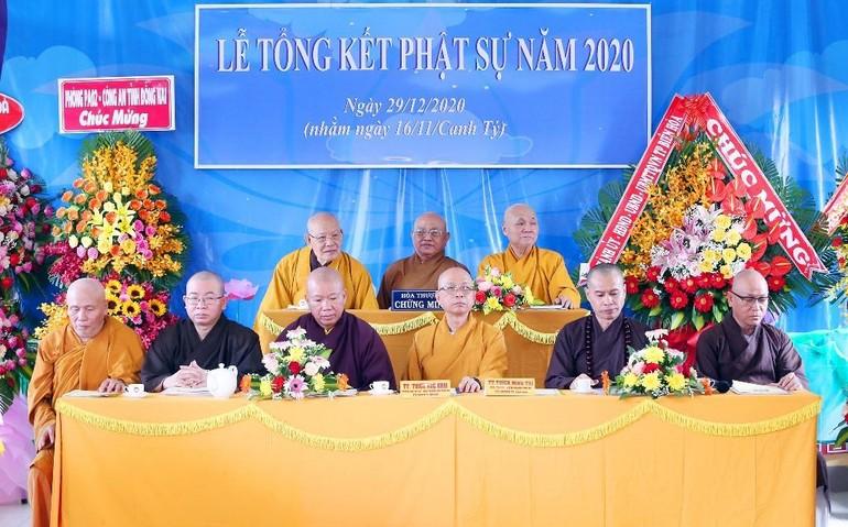 Phật giáo TP.Biên Hòa từ thiện hơn 47 tỷ đồng năm 2020