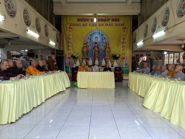 Ban Trị sự Phật giáo quận 4 họp triển khai công tác tổ chức đại hội tại chùa Phật Bửu
