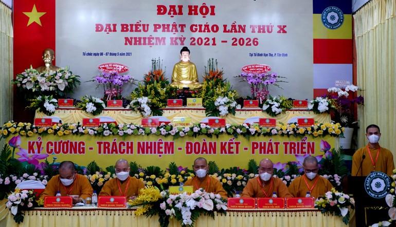 Chủ toạ đoàn phiên trù bị Đại hội đại biểu Phật giáo quận 1 lần thứ X