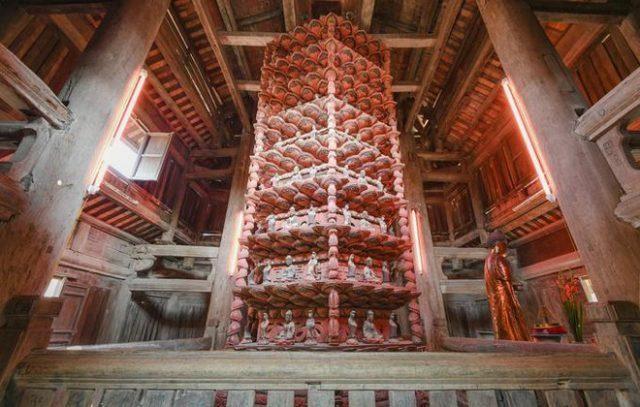 Tòa Cửu phẩm liên hoan chùa Bút Tháp, Bắc Ninh