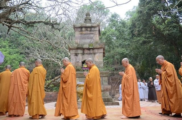 Bảo tháp Nhị tổ Pháp Loa tại chùa Thanh Mai (Hải Dương) - Ảnh: Đức Hiếu