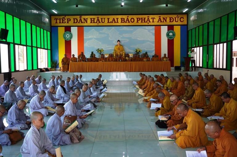 Phật giáo huyện Củ Chi họp tổng kết và triển khai kế hoạch tổ chức Đại hội Phật giáo nhiệm kỳ X