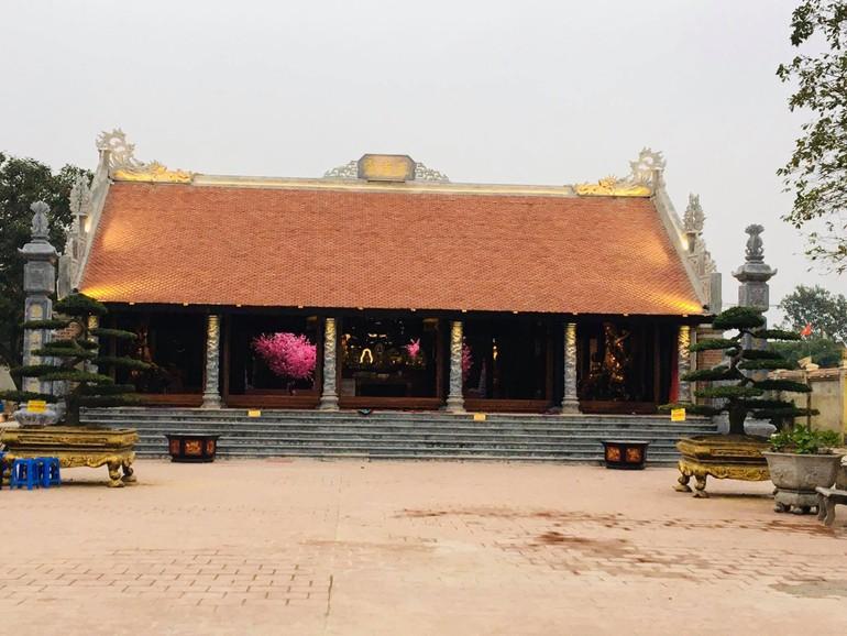 Chính điện chùa Chí Linh