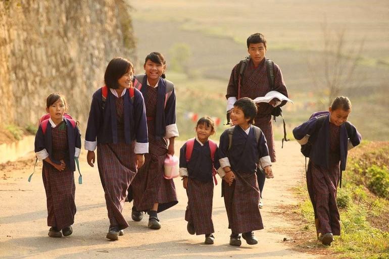 Bhutan - đất nước yên bình