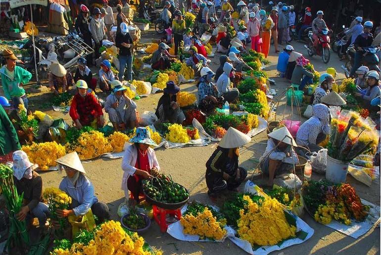 Chợ quê ngày Tết - Ảnh minh họa