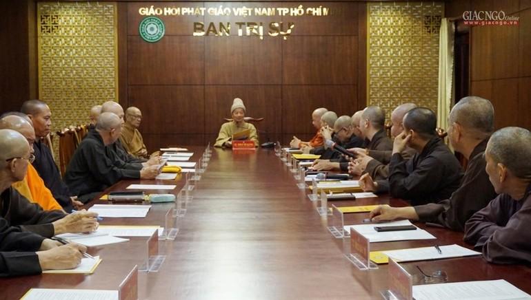 Ban Thường trực Ban Trị sự triển khai nhiều Phật sự năm 2021 và hoạt đồng mừng Xuân Tân Sửu