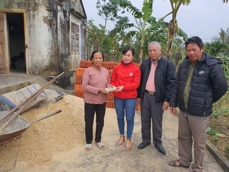 Hỗ trợ xây nhà tình thương tại tỉnh Quảng Bình