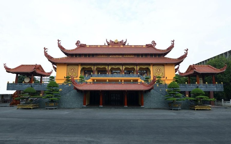 Việt Nam Quốc Tự - nơi diễn ra Pháp hội Dược Sư Tiêu Tai Diên Thọ đầu Xuân Tân Sửu - 2021