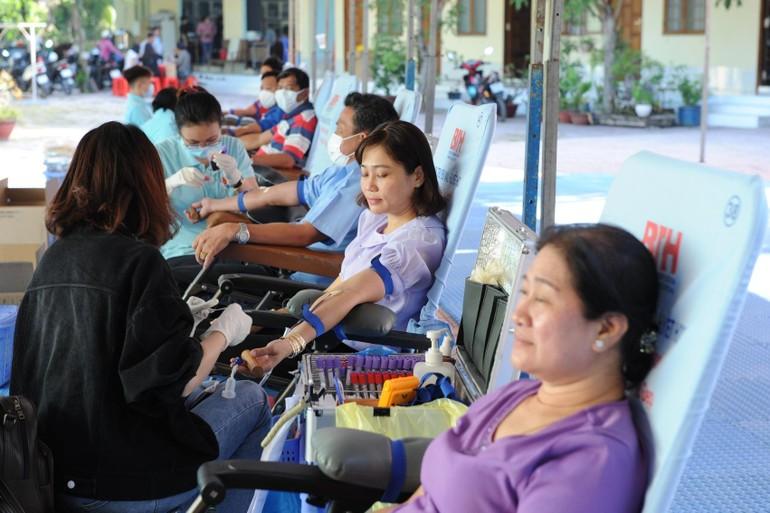 Chùa Ân Thọ tổ chức Ngày hội hiến máu tình nguyện đầu năm mới