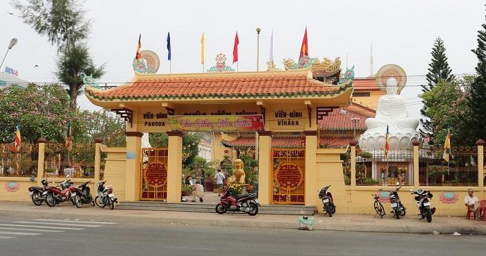 Trường Trung cấp Phật học tỉnh Bến Tre đặt tại chùa Viên Minh - Trụ sở Ban Trị sự tỉnh