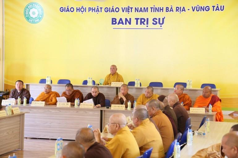 Hội nghị Ban Trị sự GHPGVN tỉnh nhằm bầu ứng cử Hội đồng Nhân dân tỉnh Bà Rịa - Vũng Tàu