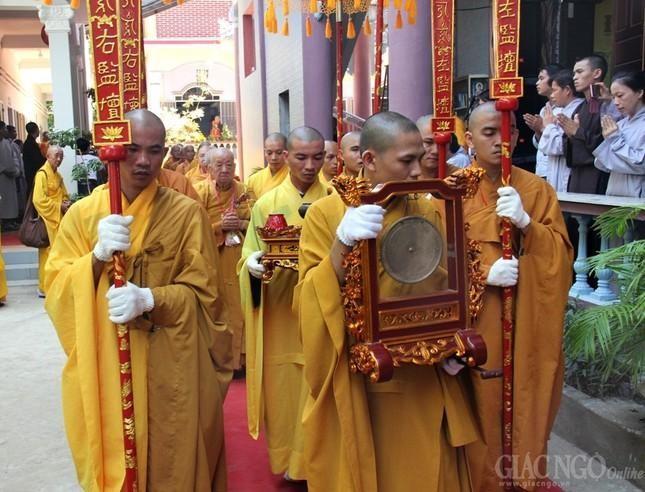 Cung thỉnh Đại giới đàn Đức Tạng - năm 2016 do Ban Trị sự GHPGVN tỉnh Ninh Thuận tổ chức