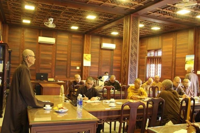 Ban Thường trực Ban Trị sự GHPGVN tỉnh Đăk Lăk tổ chức phiên họp đầu năm Tân Sửu