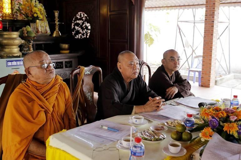 Chư tôn đức họp, dự kiến nhân sự cho Đại hội đại biểu Phật giáo thị xã Bình Long