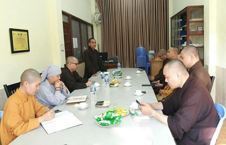 Thường trực Ban Trị sự GHPGVN thành phố Buôn Ma Thuột đã có buổi họp về nhân sự