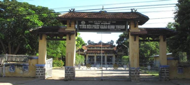 Văn phòng Ban Trị sự GHPGVN tỉnh Ninh Thuận