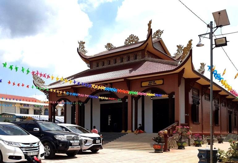 Ngôi chánh điện chùa An Bửu được hoàn thành trang nghiêm sau 4 năm xây dựng