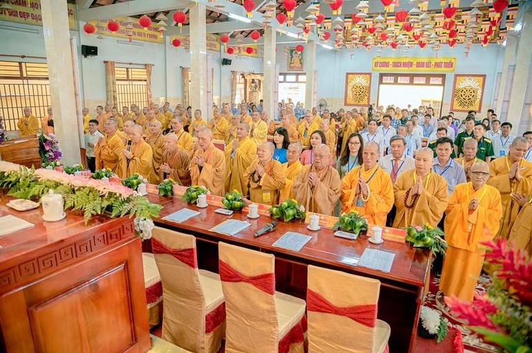 Đại hội đại biểu Phật giáo huyện Đức Hòa lần thứ X, tại chùa Linh Nguyên
