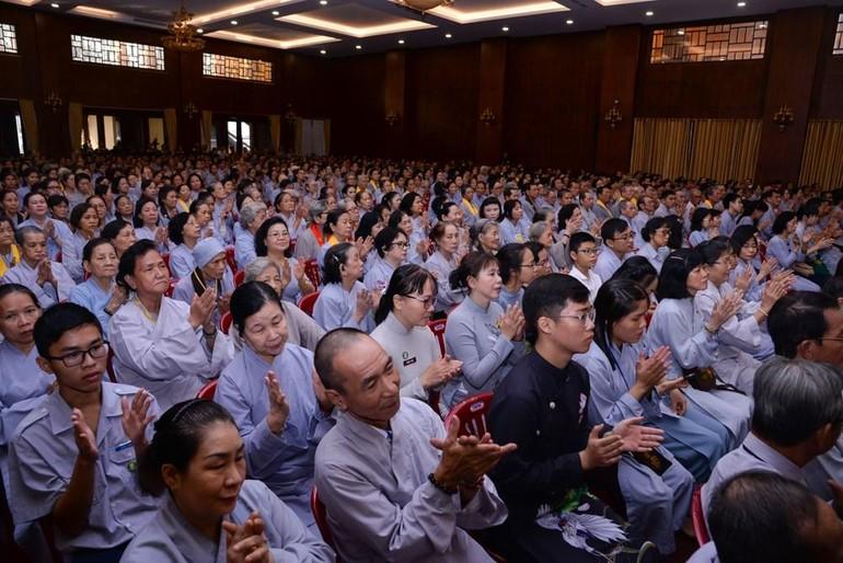 Phật tử sinh hoạt tại các đạo tràng TP.HCM