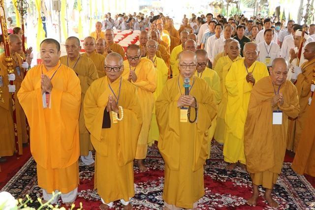 Đại hội Đại biểu Phật giáo huyện Chợ Lách lần thứ VII, nhiệm kỳ 2021-2026