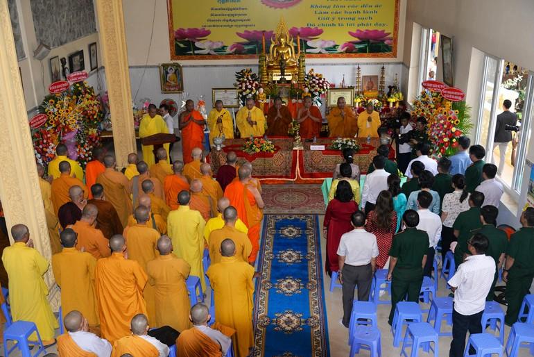 Chùa Dakkhinasattharama - chùa Nam Sơn tổ chức lễ hội mừng Tết cổ truyền cho đồng bào dân tộc Khmer